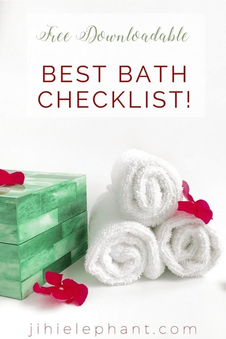 How to set up the perfect relaxing bath