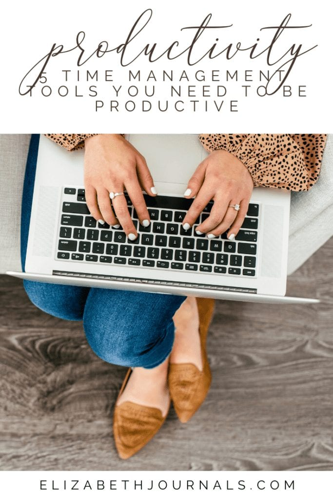For busy people, it's hard to keep organized. Often, internal chaos is the result of poor time management. Here are 5 tools for great time management.