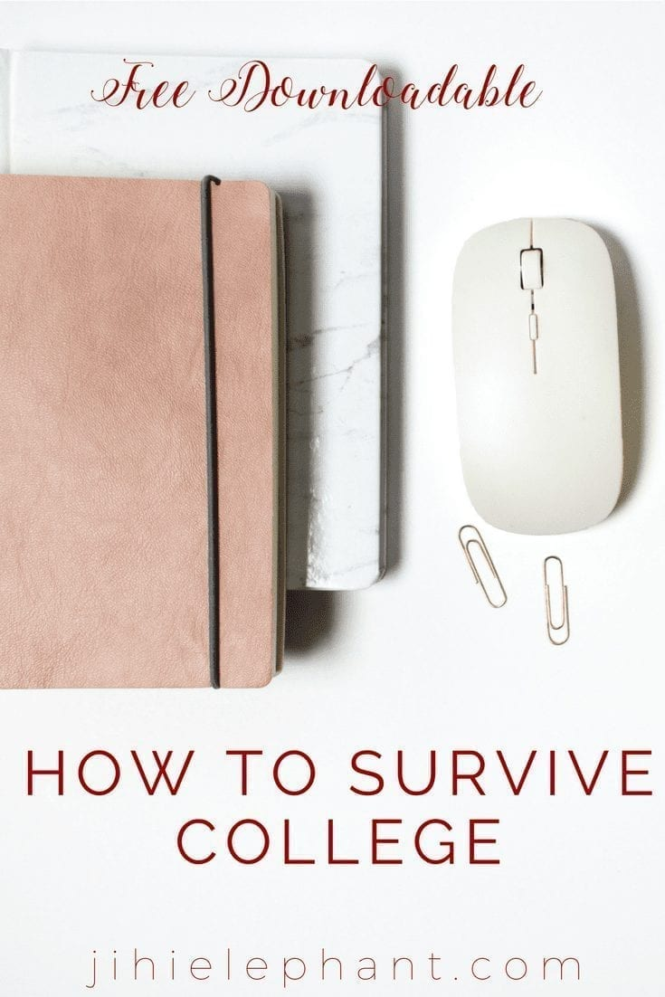 How to survive your first year of college