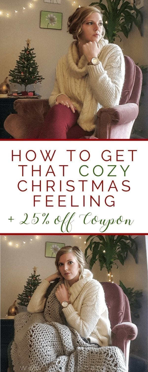 How to Get that Cozy Christmas Feeling
