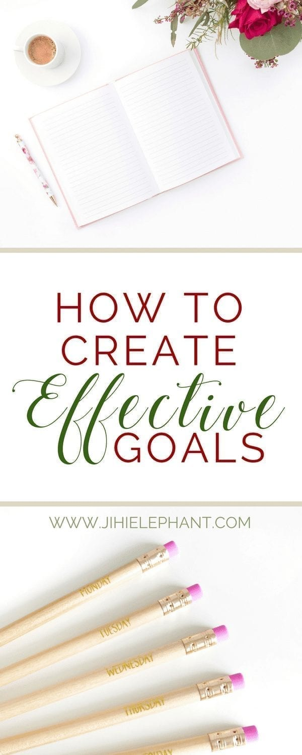 How to Create Effective Goals