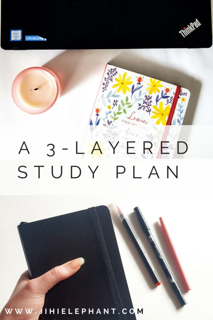 A lot of students feel they are drowning under the pressure. If you're strugglingall you need to do to get on top is this three-layered study plan!