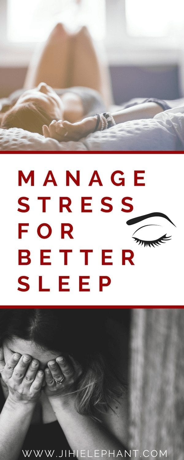3 Tips for Managing Stress for a Better Night's Sleep