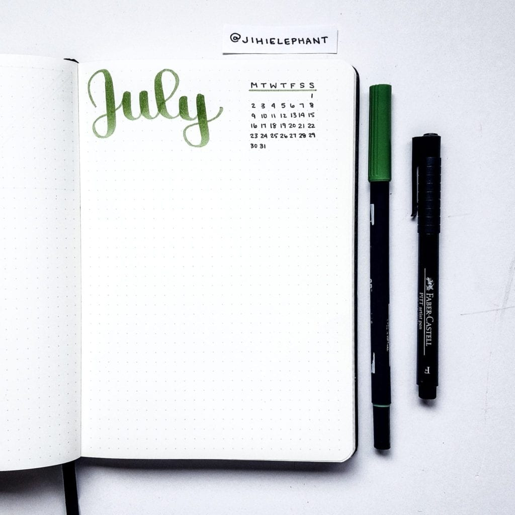 green july title month Nicole