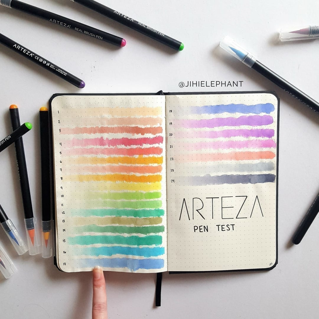 Collection and List Bullet Journal