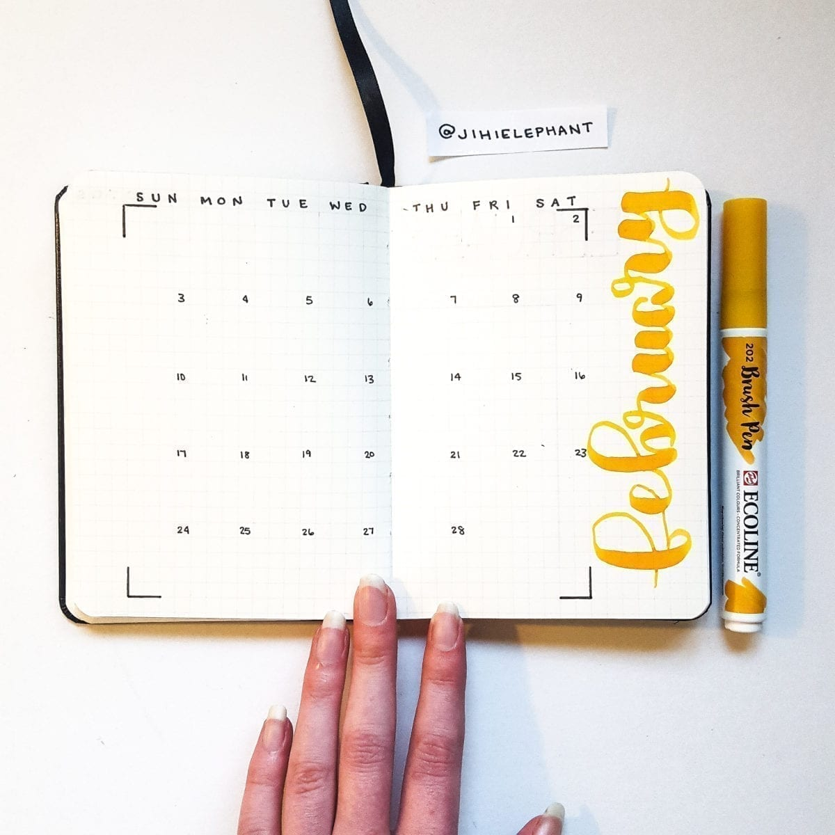 Natali's Bullet Journal | Client Gallery