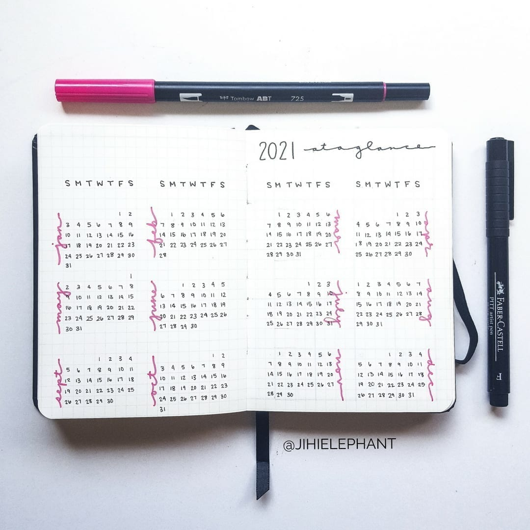 Cheryl's Bullet Journal | Client Gallery