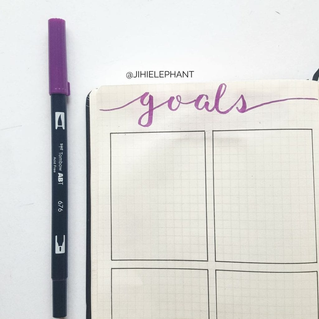 purple goals Olivia