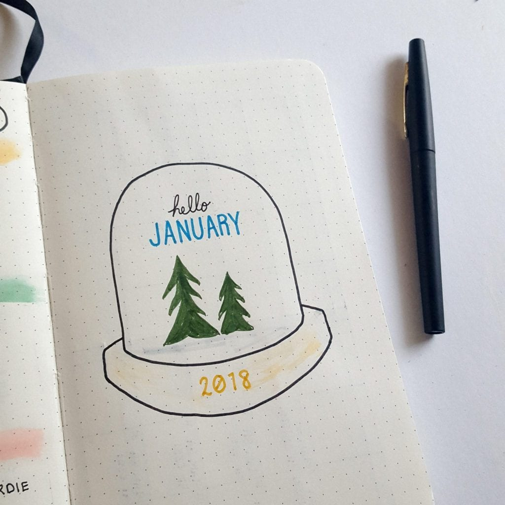 2018 Bullet Journal Overview   Plan-with-Me 2018 Walkthrough