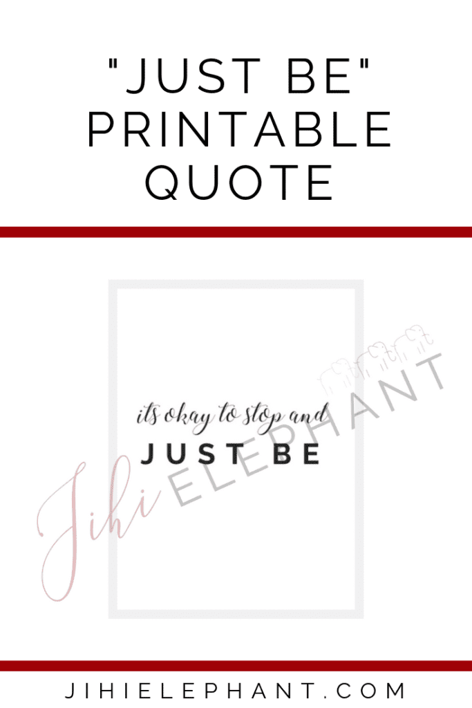 just be quote