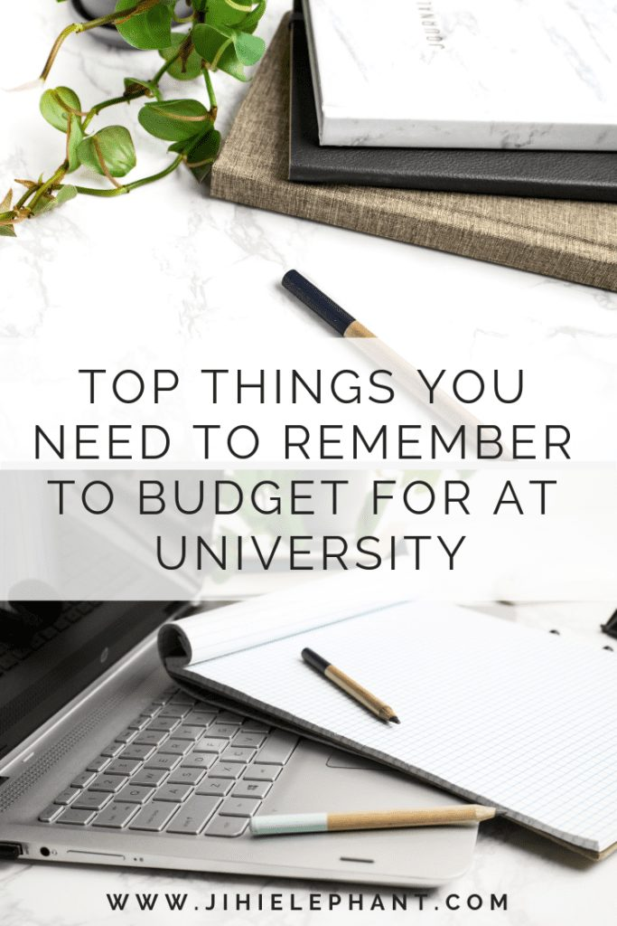 Top Things You Need to Remember to Budget for at University