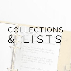 Collection & List Layouts